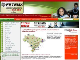 Thumbnail do site FETEMS