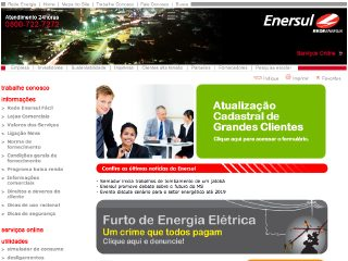 Thumbnail do site ENERSUL