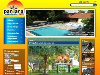 Thumbnail do site Pantanal Hotel