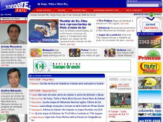 Thumbnail do site Esporte Ágil - O Esporte de Mato Grosso do Sul