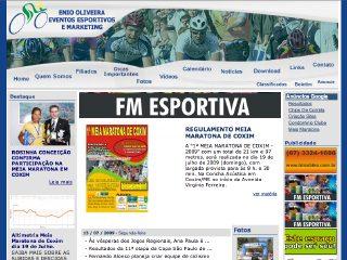 Thumbnail do site Enio Oliveira Eventos Esportivos e Marketing