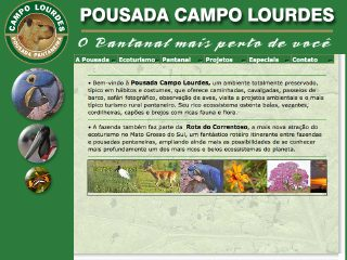 Thumbnail do site Pousada Campo Lourdes