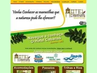 Thumbnail do site Hotel Cabanas