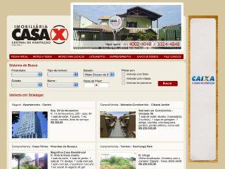 Thumbnail do site Casa X - Central de Habitaçao Imobiliária