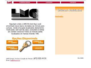 Thumbnail do site Escritório Imobiliário LMG