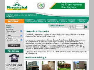 Thumbnail do site Financial Imobiliária
