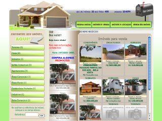 Thumbnail do site Imobiliária 2001