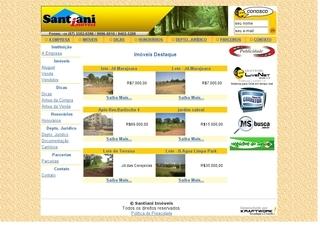 Thumbnail do site Santiani Imóveis