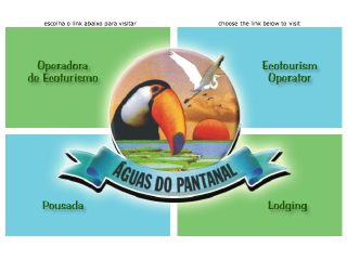Thumbnail do site Águas do Pantanal Tour