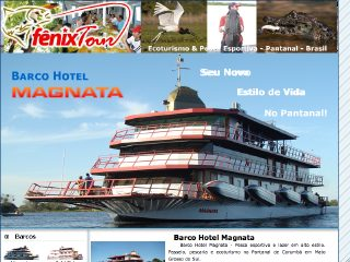 Thumbnail do site Fênix Tour - Barco Hotel Magnata