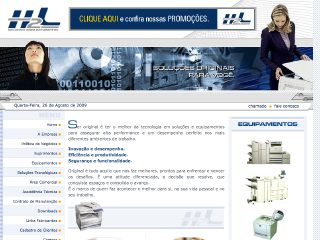 Thumbnail do site H2L - Soluções para documentos