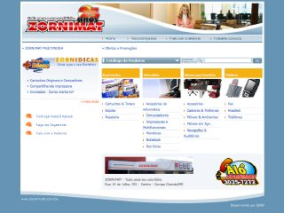Thumbnail do site Zornimat - Tudo para seu escritório
