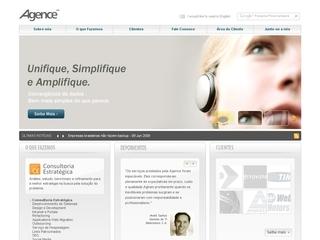Thumbnail do site Agence Consultoria e Desenvolvimento Web