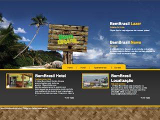 Thumbnail do site Hotel Bem Brasil