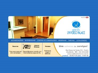 Thumbnail do site Hotel Universo Palace