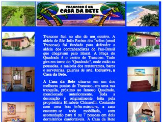 Thumbnail do site Casa da Bete