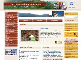 Thumbnail do site Portal Descubraminas