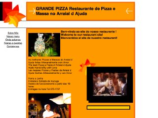 Thumbnail do site Grande Pizza