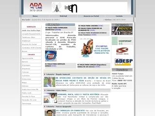 Thumbnail do site Ada On Line