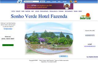 Thumbnail do site Hotel Fazenda Sonho Verde