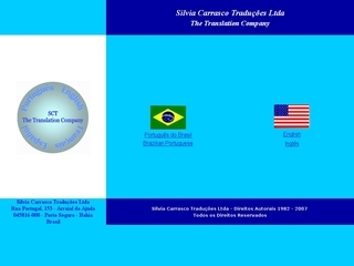 Thumbnail do site Silvia Carrasco Traduções Ltda