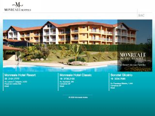 Thumbnail do site Monreale Hotel Resort