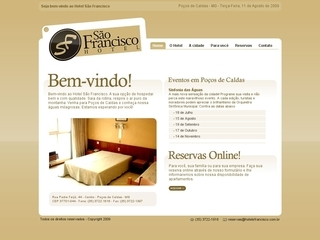 Thumbnail do site Hotel São Francisco