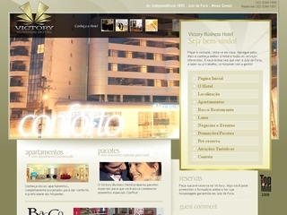 Thumbnail do site Victory Business Hotel