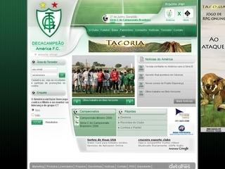 Thumbnail do site América Futebol Clube