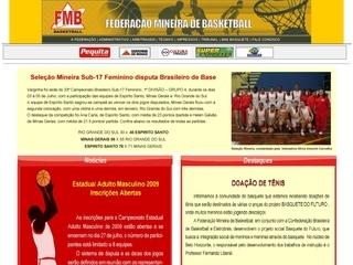 Thumbnail do site FMB - Federação Mineira de Basket