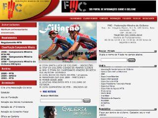 Thumbnail do site FMC - Federação Mineira de Ciclismo