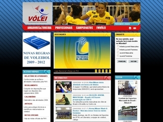 Thumbnail do site FMV - Federação Mineira de Voleibol