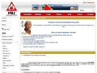 Thumbnail do site FMJ - Federação Mineira de Judô