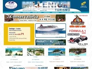 Thumbnail do site Millenium Turismo