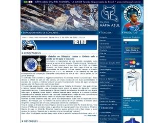 Thumbnail do site Máfia Azul Cru Fiel Floresta