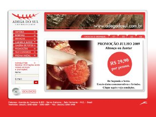 Thumbnail do site Churrascaria Adega do Sul