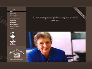 Thumbnail do site Dona Lucinha - a arte da cozinha mineira