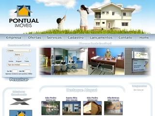 Thumbnail do site Pontual Imóveis