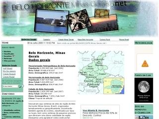 Thumbnail do site BeloHorizonte.Minas-Gerais.net, Portal de Belo Horizonte e região