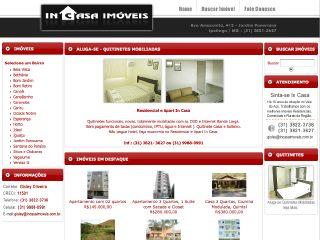 Thumbnail do site In Casa Imóveis