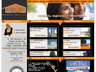 Thumbnail do site Imobiliária Master