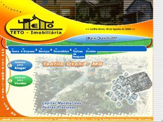 Thumbnail do site Teto Imobiliária