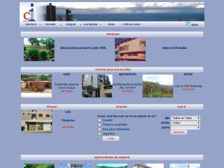 Thumbnail do site Central Imobiliária