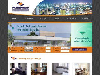 Thumbnail do site Patrimônio Imobiliária