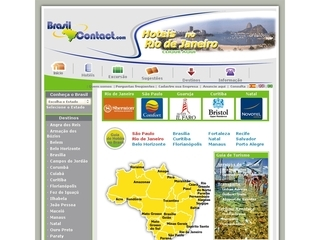 Thumbnail do site Turismo de Minas Gerais - Brasil Contact