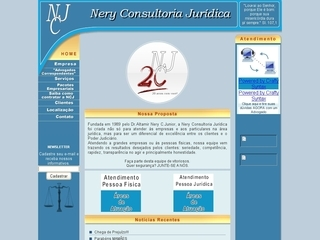 Thumbnail do site Nery Consultoria Jurídica
