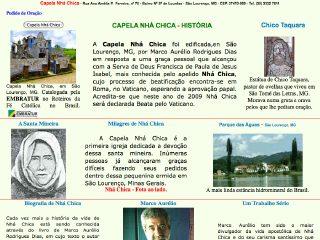 Thumbnail do site Capela Nhá Chica