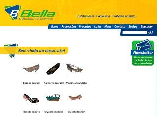 Thumbnail do site Bella Sportes