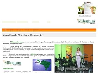 Thumbnail do site Milenium Esportes