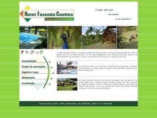 Thumbnail do site Hotel Fazenda Confins